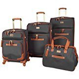 Steve Madden Luggage 4-piece Spinner Suitcase Collection