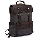 Vaschy Leather Laptop Backpack