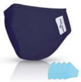 Easy@Home Washable and Reusable Cloth Mask with Filters