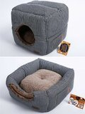Smiling Paws Pets Cat Bed Cube