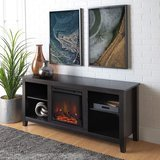 Home Accent Furnishings TV Stand with Fireplace