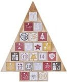 Juegoal Countdown to Christmas Tree-Shaped Advent Calendar