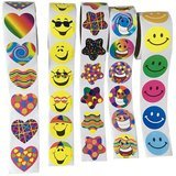 Lemimo Sticker Rolls for Kids, 500 Stickers