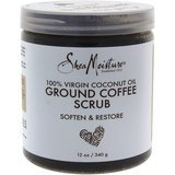 SheaMoisture 100 Percent Virgin Coconut Oil Ground Coffee Scrub