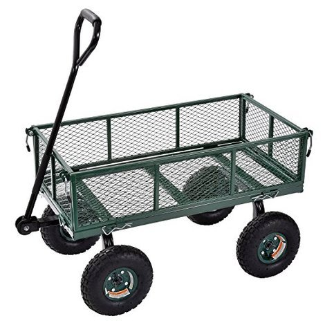 Muscle Carts Steel Utility Garden Wagon